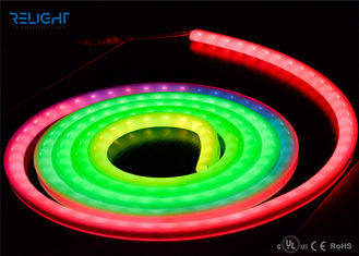 चीन High Brightness 5050 RGB 72W Dimmable Flexible LED Strip Lights For Home / Bar फैक्टरी