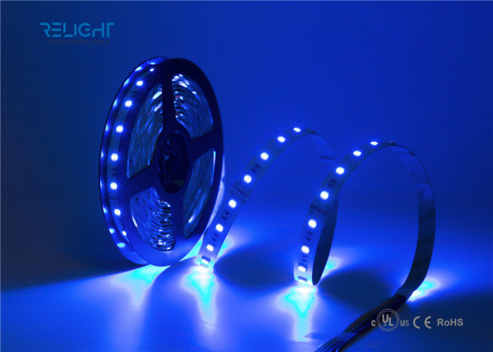 High Brightness 5050 RGB LED Strip 24-72W Power For House Decorating