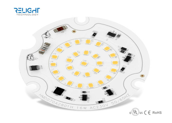 D100mm 2700K - 6500K 16W 230V Round LED Module For Ceiling Light